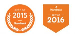 StudyProf Thumbtack.com Best Of Badges