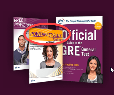 powerprep plus GRE practice tests