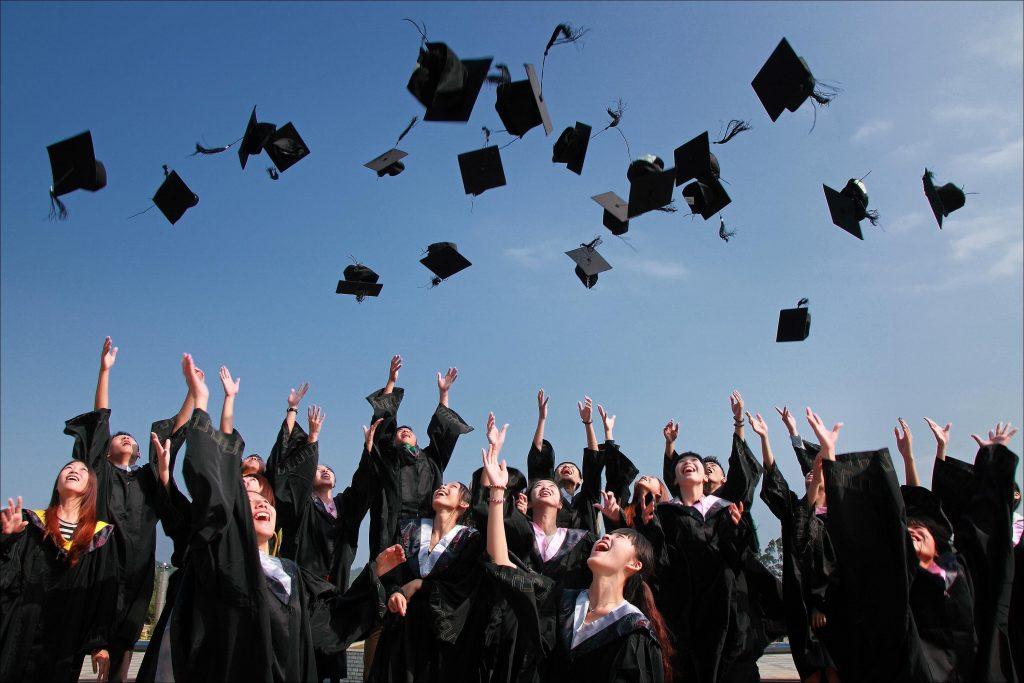 GRE Prep Course graduation
