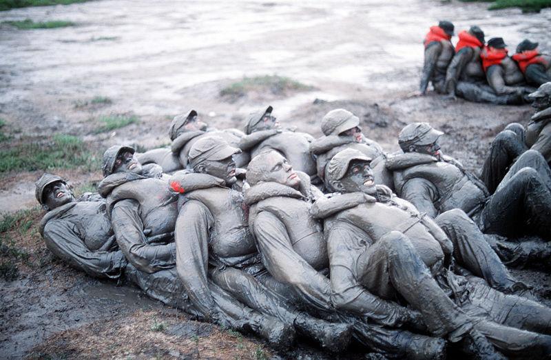 U.S. Navy SEALs BUD/S Candidates